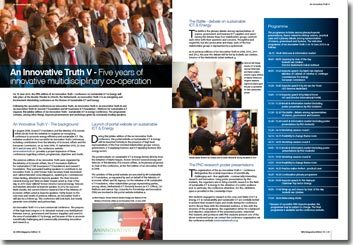 NRG Magazine Mai 2013 - An Innovative Truth V - Five years of innovative multidisciplinary co-operation by Roel Croes GreenICT Foundation