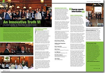 NRG Magazine September 2014 - An Innovative Truth VI - Sustainability: Key to Success by Roel Croes GreenICT Foundation