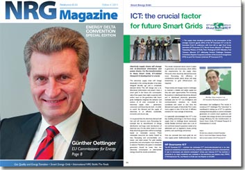 NRG Magazine november 2011 - ICT: the crucial factor for future Smart Grids