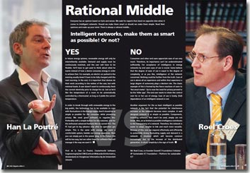 NRG Magazine maart 2012 - Rational Middle: Intelligent networks, make them as smart as possible or not