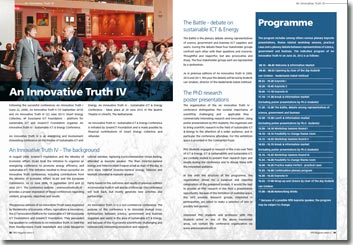 NRG Magazine juni 2012 - An Innovative Truth IV: Sustainable ICT & Energy Conference by GreenICT Foundation